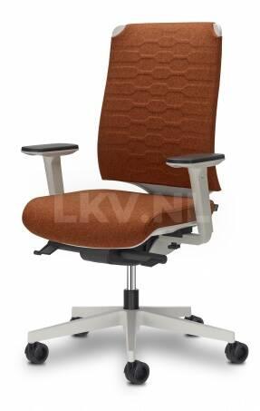 Leaf C2C bureaustoel met geometrisch patroon