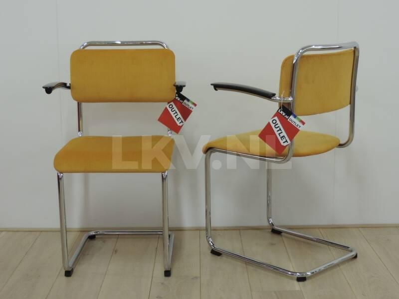 Design outlet stoelen gispen 201xl geel for Outlet stoelen
