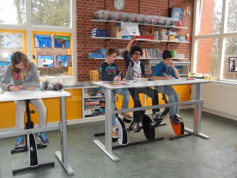 Deskbike LKV - ook op school