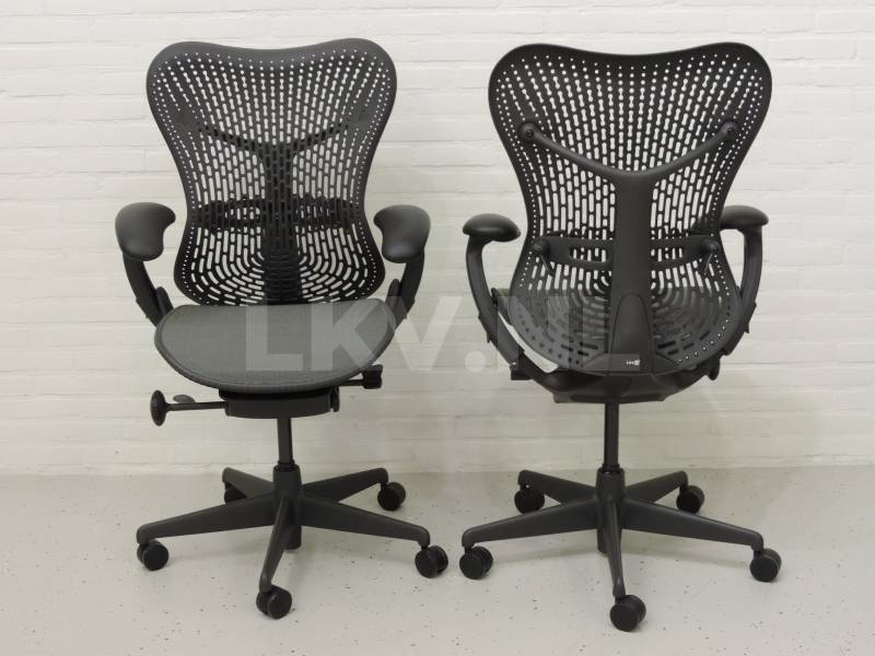 Herman Miller Bureaustoel Mirra, kleur grijs