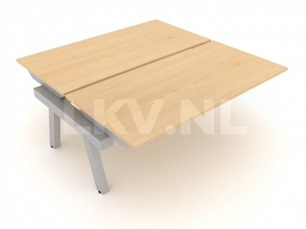 Linnea Elevate duo bench intermediair / vaste hoogte