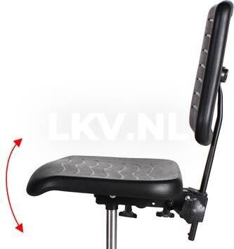 Werkstoel KM267 Zithoekverstelling - meerprijs € 30,- excl. BTW
