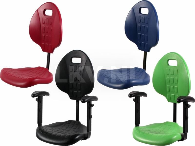 Werkstoel TEZ200 - kleuren