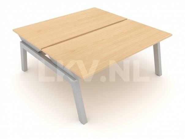 Linnea Elevate duo bench / vaste hoogte