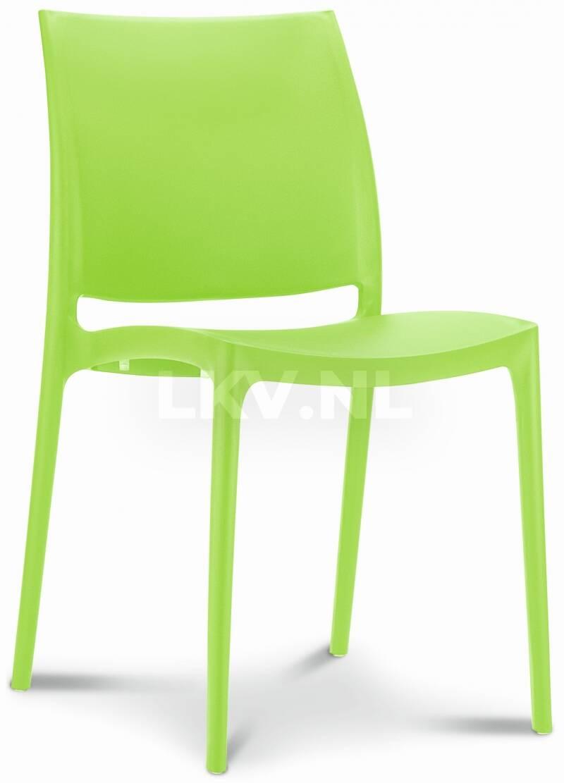 Stapelbare stoel Maya - voor binnen en buiten