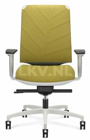 Leaf C2C bureaustoel met bladmotief