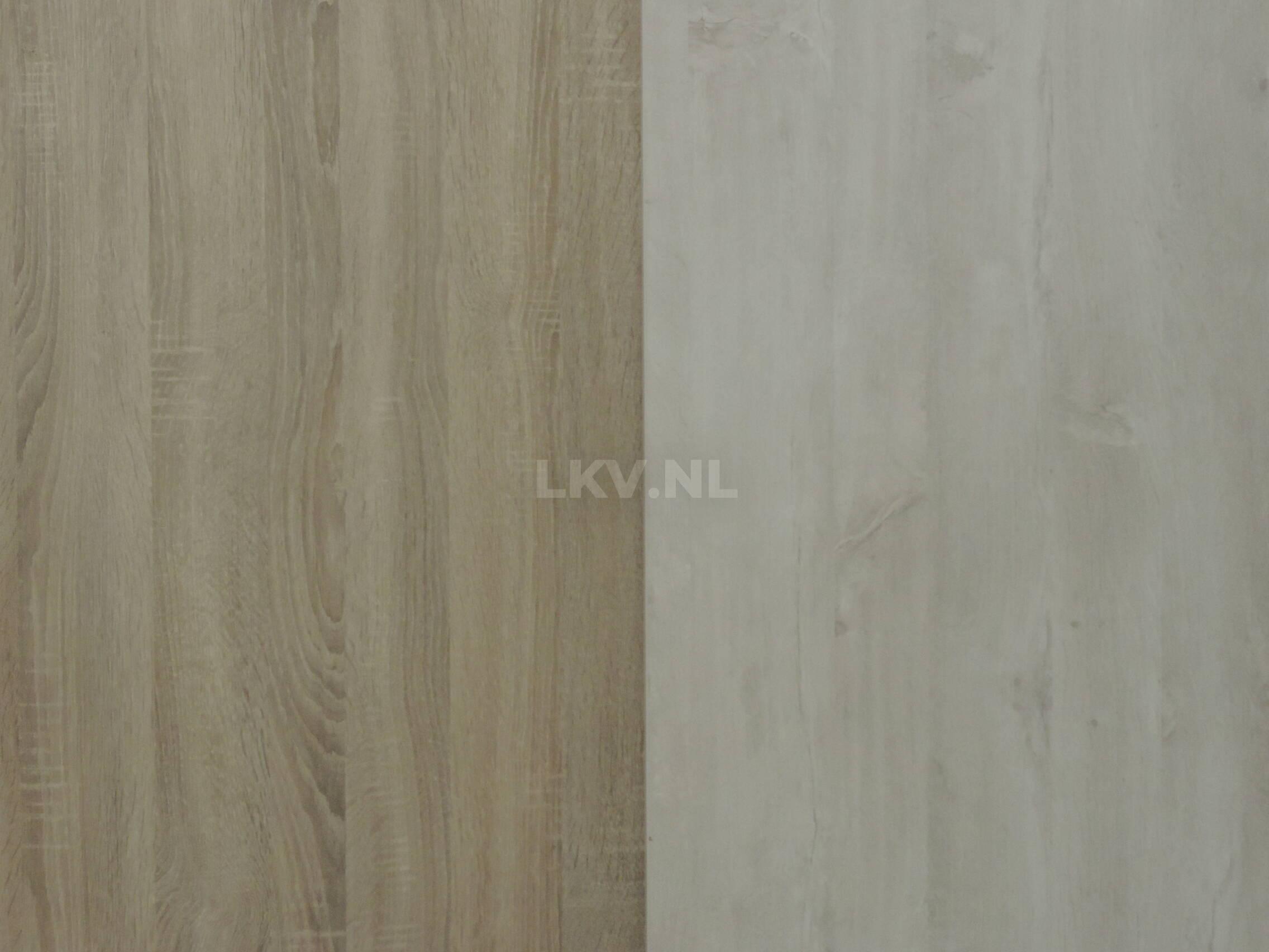 Zit-sta bureau GT-VO bladkleur eiken robson en oak light